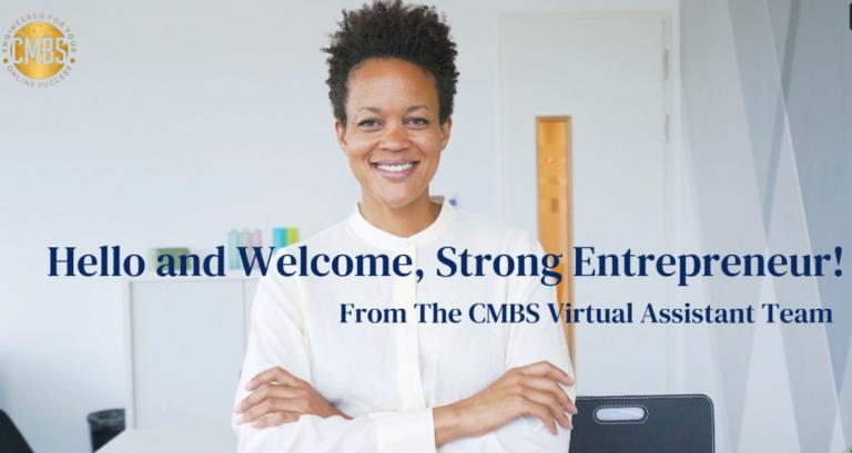 Welcome Strong Entrepreneur
