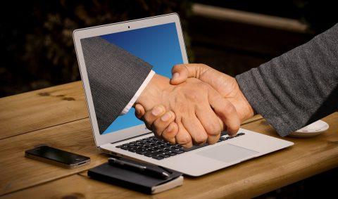 digital handshake by marketers